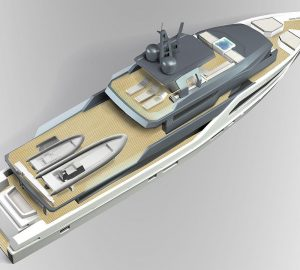 Otam Yachts presents its 115 concept in conjunction with R+P Architecture