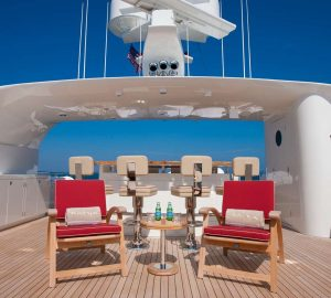Charter opulent superyacht Avalon in the Bahamas