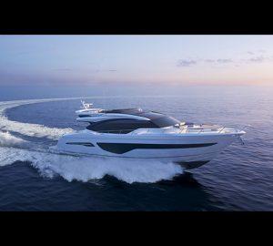 Princess Yachts launches the S78 sportsbridge yacht