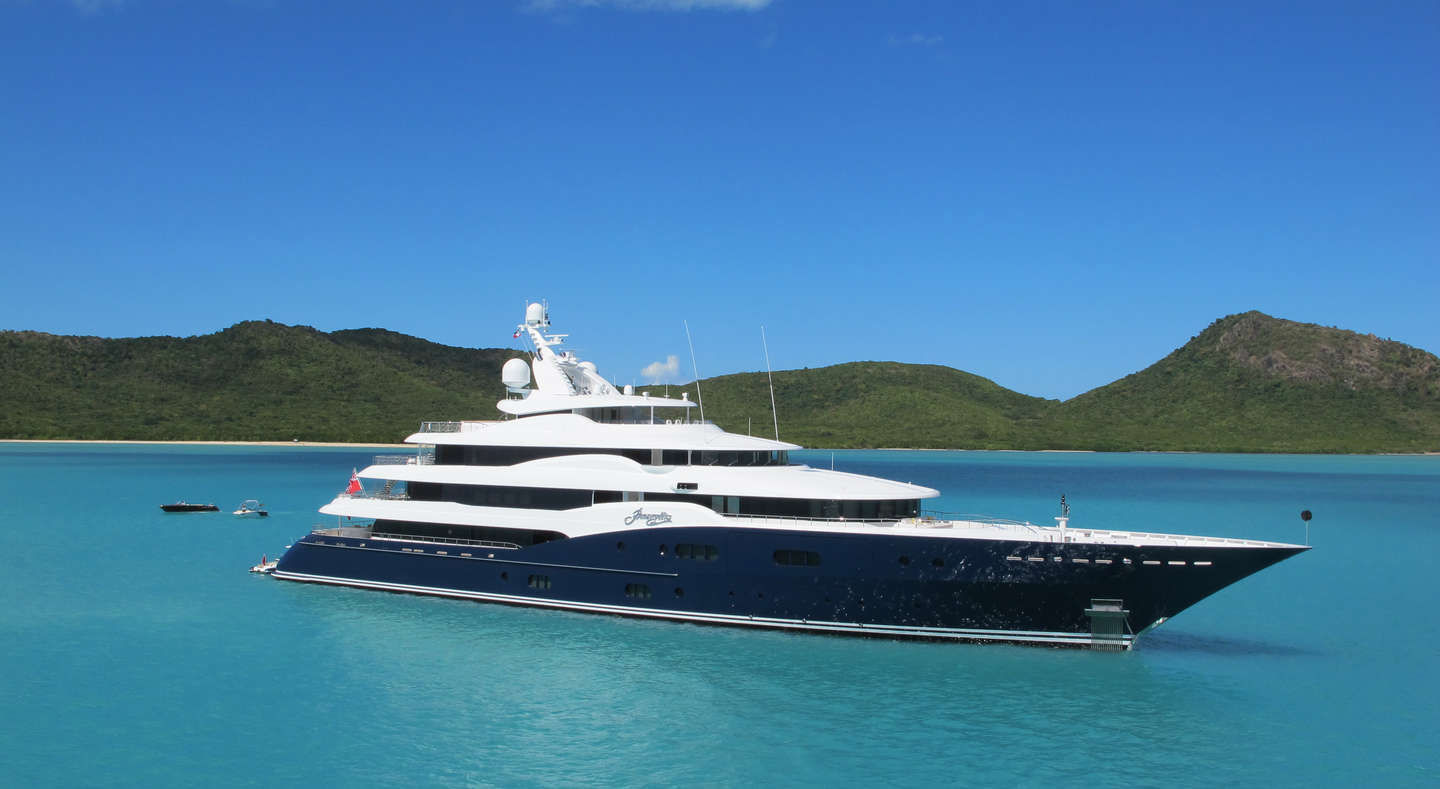 Review Of Yacht Amaryllis By Abeking And Rasmussen Yacht