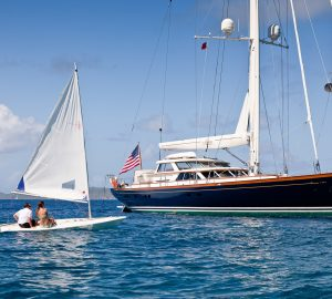Charter classically-styled S/Y MARAE in the Caribbean and Bahamas this winter