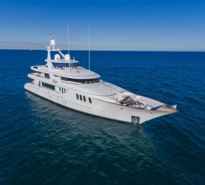 Charter motor yacht Allegria in the Caribbean and Bahamas