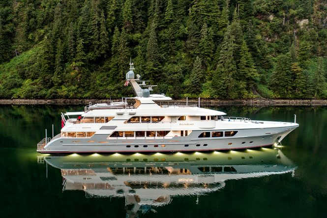 Superyacht ENDLESS SUMMMER - Built by Christensen and Delta Marine and launched in 2017