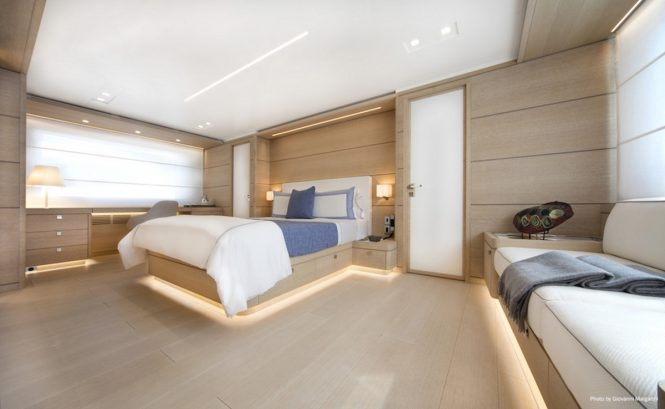 Superyacht NARVALO - Master suite