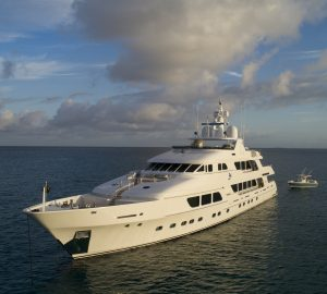 Charter superyacht Three Forks in the Bahamas this winter