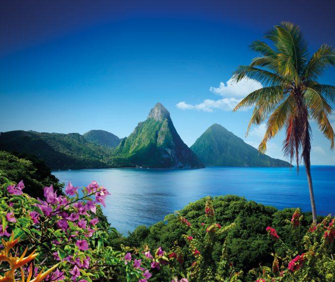 Twin Piton Peaks - Saint Lucia ©Saint Lucia Tourist Board