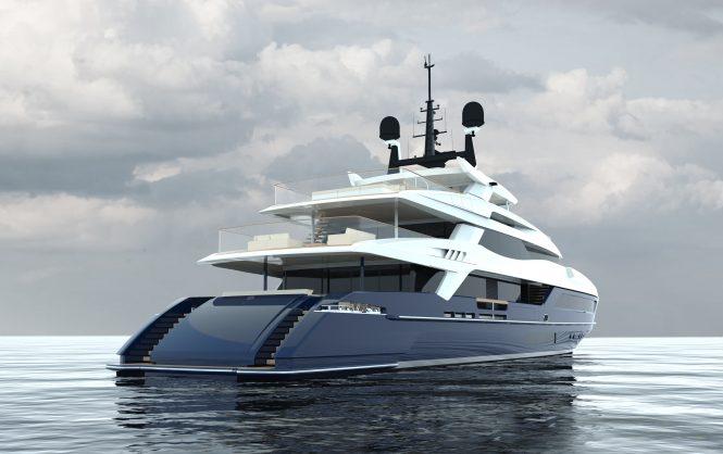 55m Baglietto Superyacht