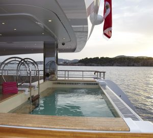 20 Top Charter Yachts with Swimming Pools