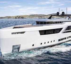 Baglietto and Hot Lab new V-line superyacht