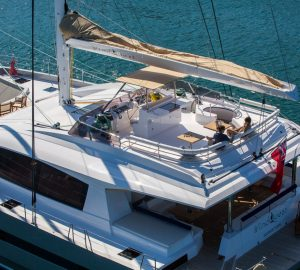 Charter luxury catamaran WINDQUEST in the Caribbean and Bahamas