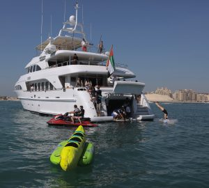 Charter favourite family superyacht DXB in the Western Mediterranean