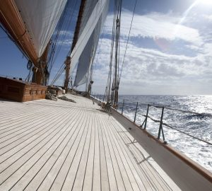 Charter sailing yacht Elena in the Caribbean at her new low season rate