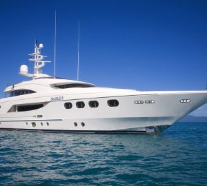Charter motor yacht DeLisle III in the Solomon Islands