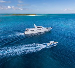 Charter luxury yacht No Buoys in the Caribbean and Bahamas