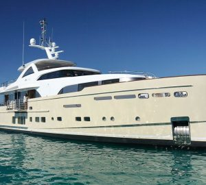 Award-winning superyacht and chef with superyacht SOLIS on Caribbean charters