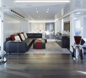 Inside the interiors of Heesen mega yacht Home