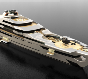 The new 140 metre mega yacht concept from Ken Freivokh Design