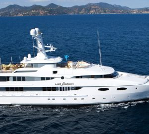 Charter luxury yacht LADY SHERIDAN in the Bahamas and Caribbean
