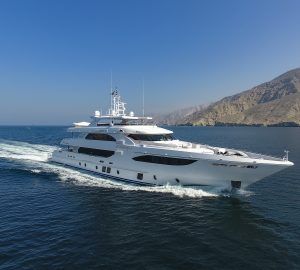 Seventh Majesty 135 superyacht delivered by Gulf Craft