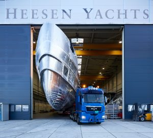 A commercial success - Heesen's new, impressive 50m superyacht