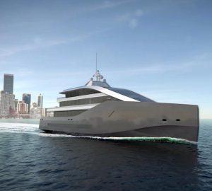 Rolls-Royce unveils 62m/203ft superyacht concept 'Crystal Blue'