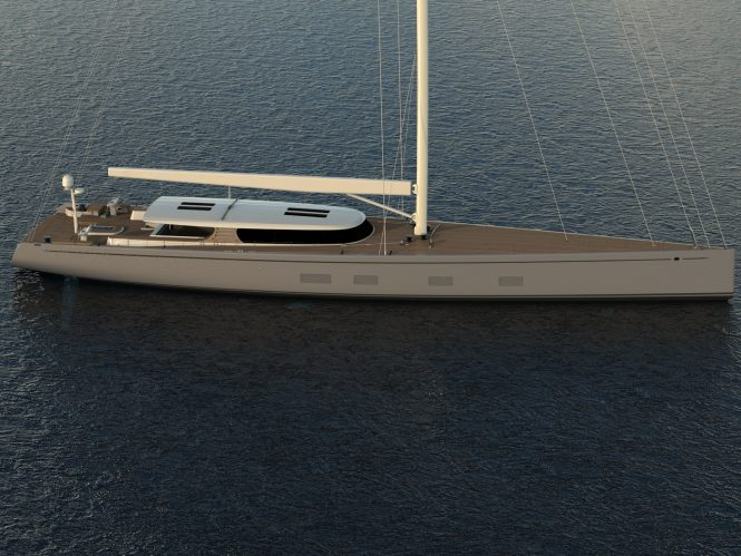 Behind the design of cutting-edge sailing yacht Baltic 142 — Yacht Charter & Superyacht News