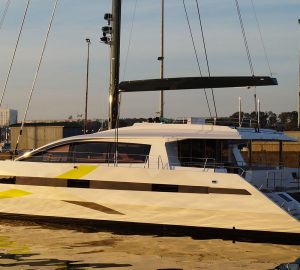 JFA Yachts launches second Long Island 85 catamaran
