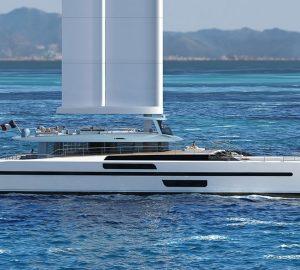 VPLP designed Wing Yacht EVIDENCE superyacht