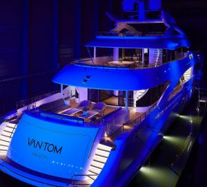 Hessen 50m/164ft superyacht Project Alba Christened VanTom