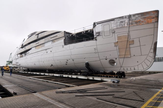 74m Project A&R 6502 superyacht by Abeking & Rasmussen