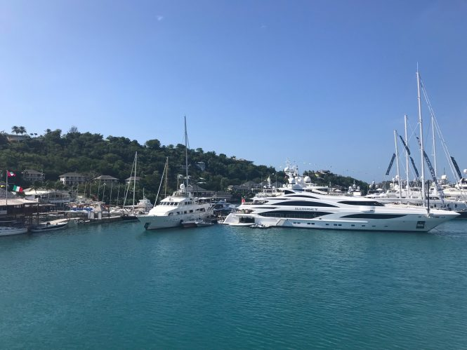 Antigua Yacht Show 2017 - Photo credit CharterWorld.com