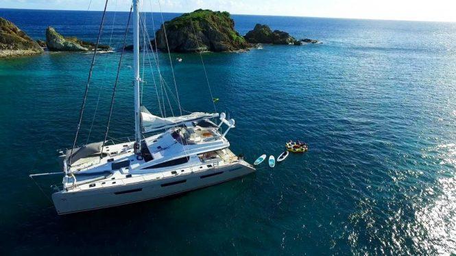 Caribbean charters aboard XENIA 74