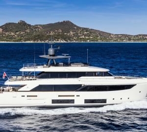 Inside the new Custom Line Navetta 33 Superyacht by Ferretti