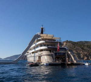 Top 10 most luxurious charter yachts from 2017