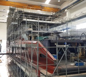 The latest news on the new K42 superyacht from Cantiere delle Marche