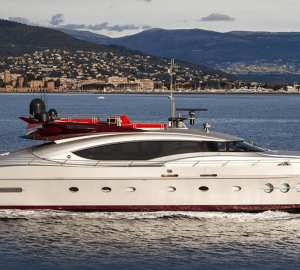 Speedy open yacht Vitamin available for summer charters in the South of France