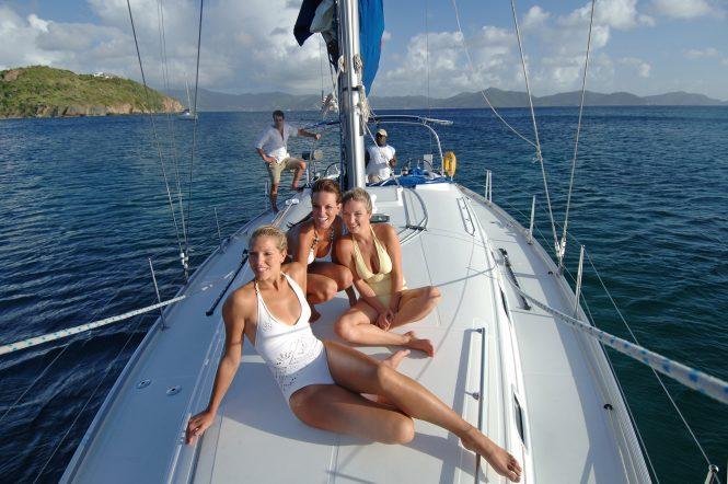 Sailing Sir Francis Drake Channel - Credit British Virgin Islands Tourist Board.