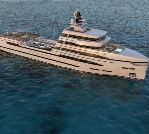 Rosetti Superyacht SpA unveils new 85m expedition support yacht concept
