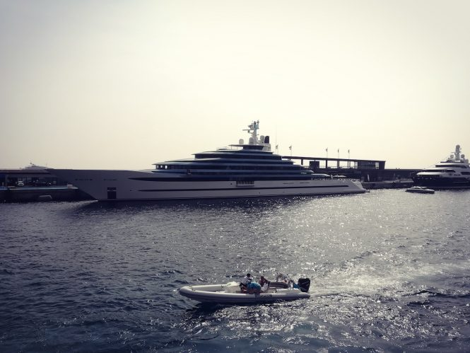 110m Oceanco superyacht Jubilee at MYS 2017 - Photo © CharterWorld