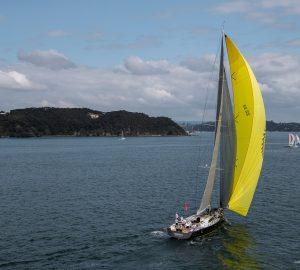 Sailing yacht Ammonite wins New Zealand Millennium Cup 2018