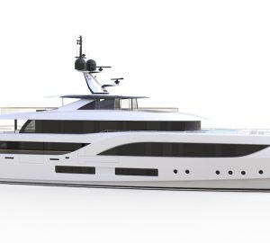 First image released of new Baglietto 54m superyacht Hull 10231