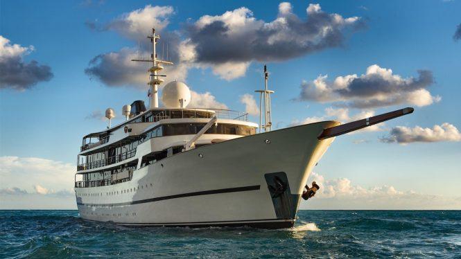 Classic superyacht CHAKRA