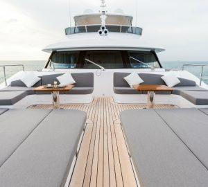 Charter stunning superyacht Edesia in the Western Mediterranean