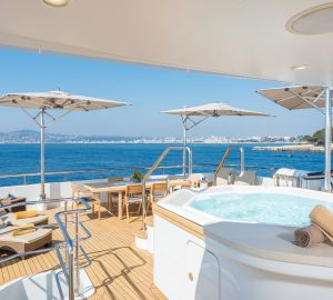 Special offer: 15% discount for luxury charter yacht JADE 959 this summer in the Mediterranean