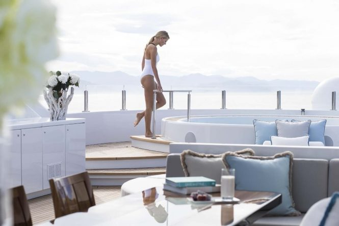 Luxury yacht charter vacation aboard Turquoise
