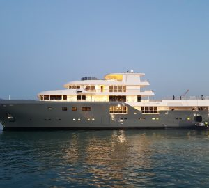Italian Sea Group launches 75m Admiral superyacht PLANET NINE