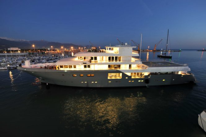Planet Nine superyacht by Admiral of The Italian Sea Group
