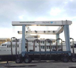 Palumbo yachts announces first motor yacht refit at Savona shipyard