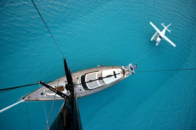 Tenacious view from the mast