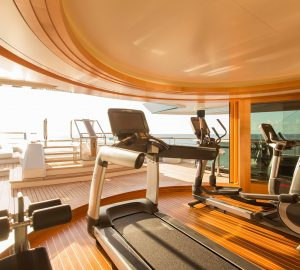 Fulfil your New Year's Fitness Resolution on luxury yacht charter: Top Superyacht Gyms